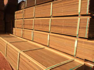 ipe decking by Wood Brokerage International